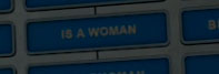 is a woman